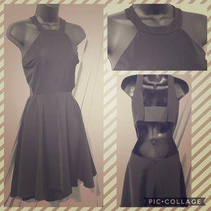 Tailored Express A-line Peekaboo Dress